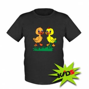 Kids T-shirt Ducklings