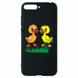 Phone case for Huawei Y6 2018 Ducklings