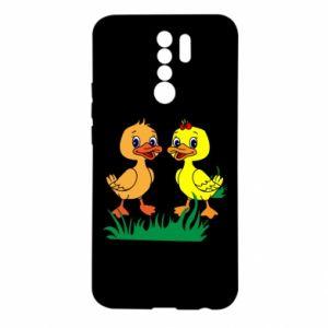 Etui na Xiaomi Redmi 9 Kaczątka
