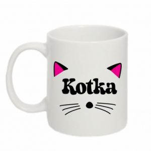 Mug 330ml Cat with pink ears