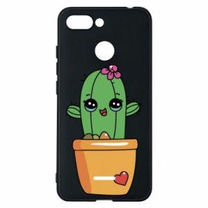 Etui na Xiaomi Redmi 6 Kaktus
