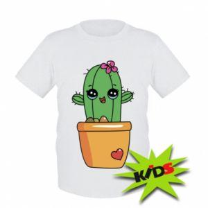 Dziecięcy T-shirt Kaktus