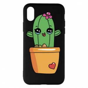 Etui na iPhone X/Xs Kaktus