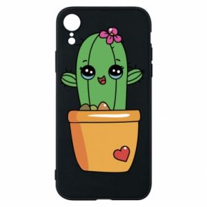 Phone case for iPhone XR Cactus