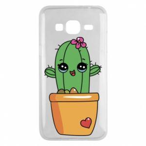 Etui na Samsung J3 2016 Kaktus