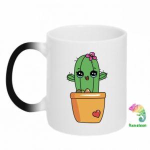 Chameleon mugs Cactus