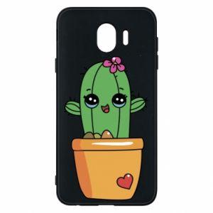 Etui na Samsung J4 Kaktus
