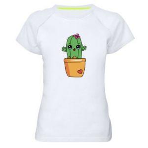 Damska koszulka sportowa Kaktus