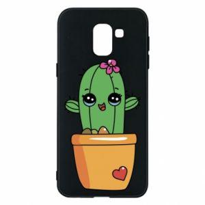 Etui na Samsung J6 Kaktus