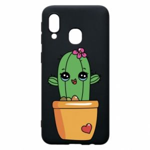 Phone case for Samsung A40 Cactus