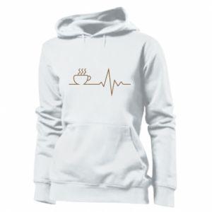 Damska bluza Kardiogram kawy