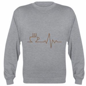 Bluza (raglan) Kardiogram kawy