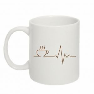 Mug 330ml Coffee cardiogram