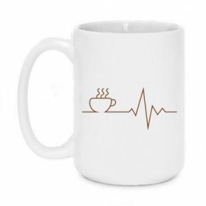 Kubek 450ml Kardiogram kawy