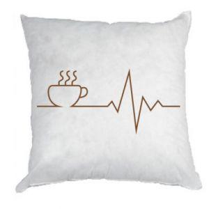 Poduszka Kardiogram kawy