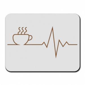 Podkładka pod mysz Kardiogram kawy