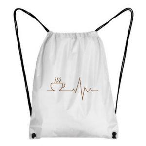 Plecak-worek Kardiogram kawy