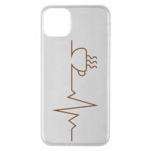 Etui na iPhone 11 Pro Max Kardiogram kawy