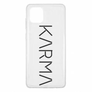 Etui na Samsung Note 10 Lite Karma inscription