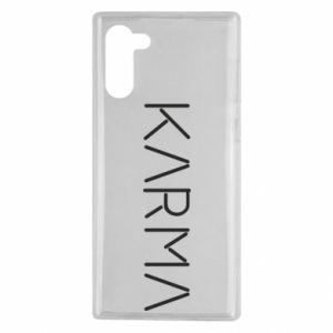 Etui na Samsung Note 10 Karma inscription