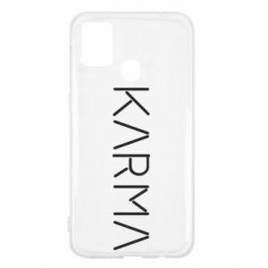 Etui na Samsung M31 Karma inscription