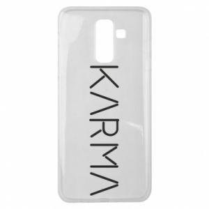 Etui na Samsung J8 2018 Karma inscription