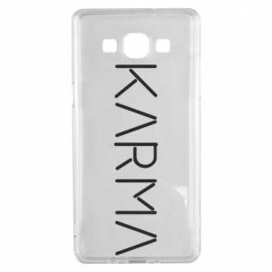 Etui na Samsung A5 2015 Karma inscription