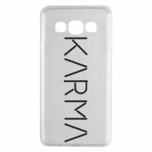 Etui na Samsung A3 2015 Karma inscription