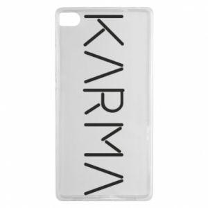 Etui na Huawei P8 Karma inscription