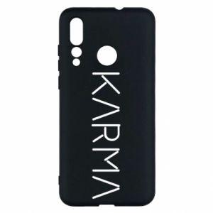 Etui na Huawei Nova 4 Karma inscription