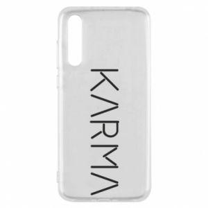 Etui na Huawei P20 Pro Karma inscription