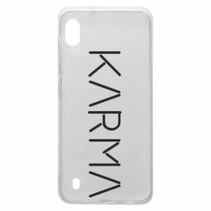 Etui na Samsung A10 Karma inscription