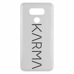 Etui na LG G6 Karma inscription