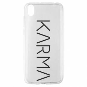 Etui na Huawei Y5 2019 Karma inscription