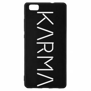 Etui na Huawei P 8 Lite Karma inscription