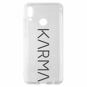 Etui na Huawei P Smart 2019 Karma inscription