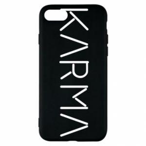 Etui na iPhone SE 2020 Karma inscription