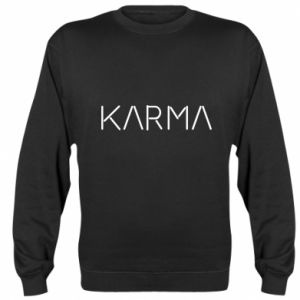 Bluza (raglan) Karma inscription