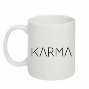 Kubek 330ml Karma inscription