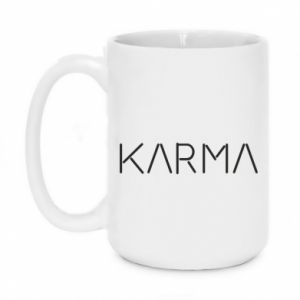 Kubek 450ml Karma inscription