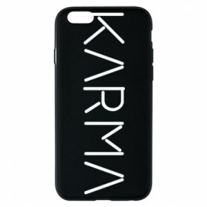 Phone case for iPhone 6/6S Karma inscription