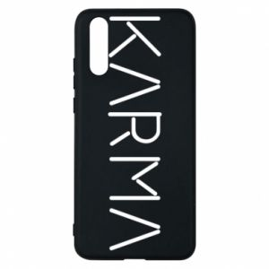 Phone case for Huawei P20 Karma inscription