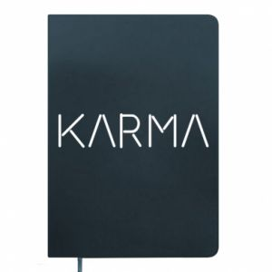 Notes Karma inscription