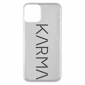 Phone case for iPhone 11 Karma inscription