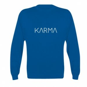 Bluza dziecięca Karma inscription