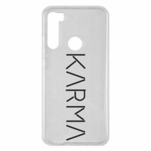 Etui na Xiaomi Redmi Note 8 Karma inscription