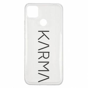 Etui na Xiaomi Redmi 9c Karma inscription