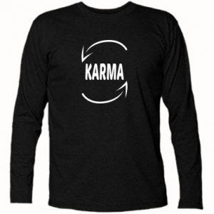 Koszulka z długim rękawem Karma