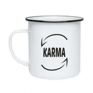 Kubek emaliowane Karma