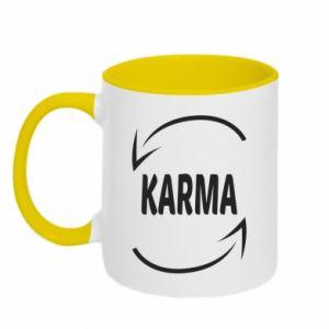Kubek dwukolorowy Karma